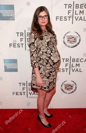 "Director Kat Coiro attends the ""A Case Of You"" premiere during the 2013 Tribeca Film Festival on in New York"