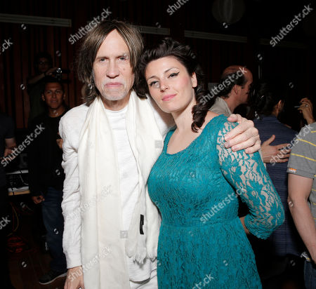 Glen Ballard and Carina Round attend A Night for Jolie Levine Sponsored by Lupus LA & Sweet Relief Musicians Fund, at Henson Studios on Friday, May, 31, 2013 in Los Angeles