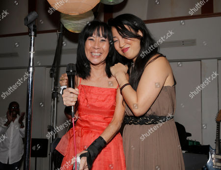 Stock Photo of Jolie Levine and Susie Suh attend A Night for Jolie Levine Sponsored by Lupus LA & Sweet Relief Musicians Fund, at Henson Studios on Friday, May, 31, 2013 in Los Angeles