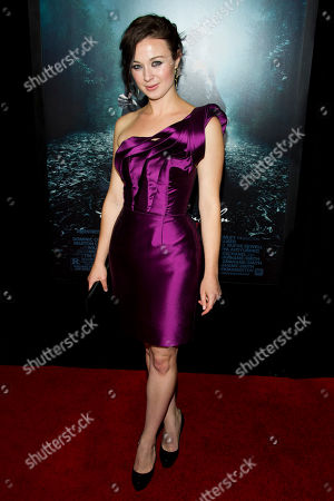 "Robin McLeavy attends the ""Abraham Lincoln: Vampire Hunter"" premiere on in New York"