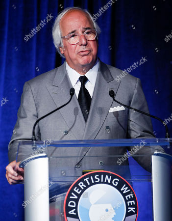 Stock Image of Frank Abagnale seen at Advertising Week on in New York