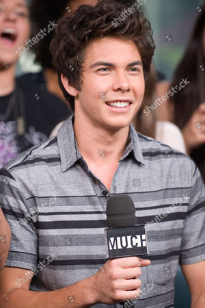 Musician Cameron Quiseng of the band Allstar Weekend speaks during an interview at New.Music.Live. at the MuchMusic HQ, in Toronto