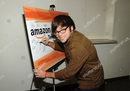 Charlie Saxton is seen at the Television Academy presents Amazon Studios, on at the Leonard H. Goldenson Theatre in North Hollywood, Calif