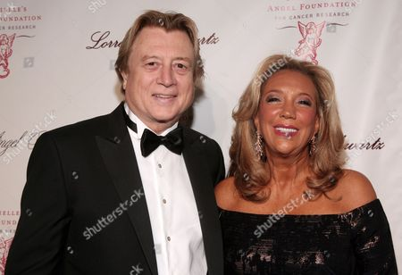 Physician Niels Lauersen, left, and philanthropist Denise Rich, right, attend Angel Ball 2013 on in New York