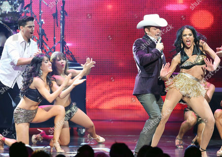 Horacio Palencia Gasa, performs at the 2012 Billboard Mexican Music Awards at the Shrine Auditorium, in Los Angeles