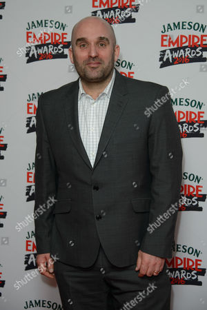 Shane Meadows poses for photographers upon arrival at the 'Empire Film Awards' in London