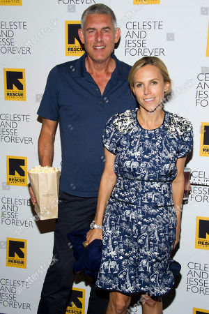 """Lyor Cohen and Tory Burch attends the """"Celeste and Jesse Forever"""" premiere on in New York"""