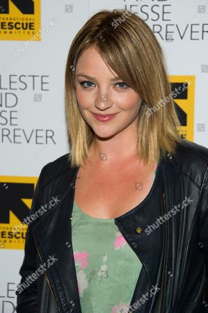 "Stock Image of Abby Elliot attends the ""Celeste and Jesse Forever"" premiere on in New York"