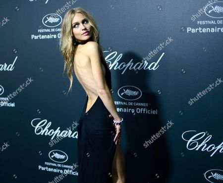 Stock Image of Katharina Damm seen the Chopard Party at the 67th international film festival, Cannes, southern France
