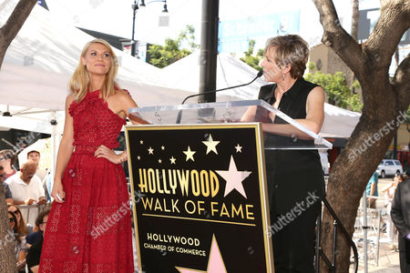Claire Danes and Bess Armstrong seen at a ceremony honoring Claire Danes with a star on The Hollywood Walk of Fame, in Hollywood, CA