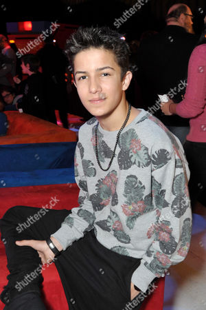 Aramis Knight attends DreamWorks Animation and Netflix's Turbo FAST Los Angeles Premiere Event, on in West Hollywood, Calif