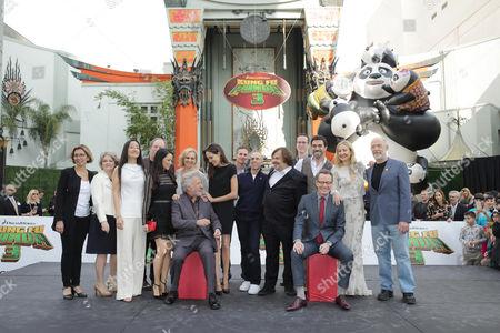 Editorial image of DreamWorks Animation and Twentieth Century Fox World Premiere of 'Kung Fu Panda 3', Hollywood, USA