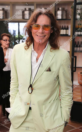George Blodwell, Celebrity Stylist poses at Fashion Group International of Los Angeles luncheon to present a fashion scholarship fund honoring Ilse Metchek and the California Fashion Association held at Fig & Olive, in Los Angeles, Calif
