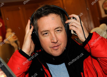 Actor Steve Little wears Inspiration headphones by Monster Products at the Fender Music lodge during the Sundance Film Festival, in Park City, Utah