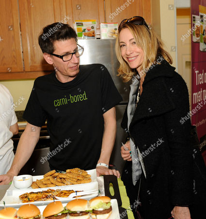 Stock Picture of Actress Judi Beecher visits the gardein kitchen at the Fender Music lodge during the Sundance Film Festival, in Park City, Utah
