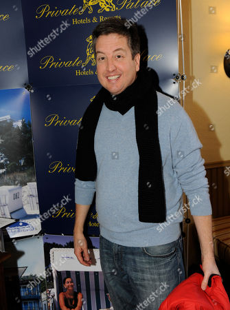 Actor Steve Little visits the Private Palace hotel and resorts booth at the Fender Music lodge during the Sundance Film Festival, in Park City, Utah