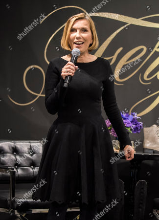 Liz Rodbell, President of Hudson's Bay Company, seen at The Hudson's Bay to promote Fergie Footwear and Fergalicious by Fergie,, in Toronto