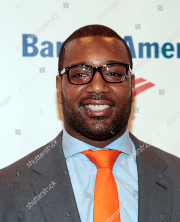 Professional athlete Chris Canty attends the Food Bank of NYC Can Do Awards Benefit Gala, in New York