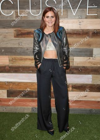 DJ Nikki Pennie seen at H&M's Conscious Collection, on in West Hollywood, California