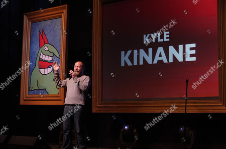 """Kyle Kinane performs at the """"Just For Laughs Comedy Festival"""" on at The Vic Theatre in Chicago"""