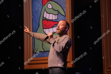 """Stock Picture of Kyle Kinane performs at the """"Just For Laughs Comedy Festival"""" on at The Vic Theatre in Chicago"""