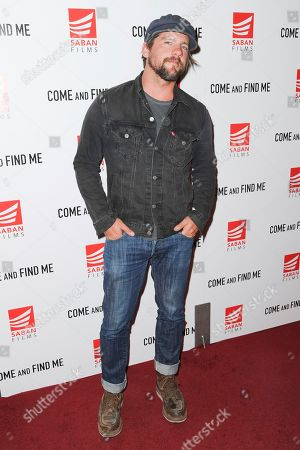 """Zachary Knighton attends the LA Premiere of """"Come and Find Me"""" at Pacific Theatres at the Grove, in Los Angeles"""