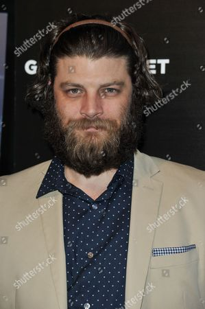 """Jay Ferguson arrives at the LA Premiere of """"God's Pocket"""" held at the Los Angeles County Museum of Art on in Los Angeles"""