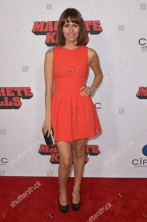 """Stock Picture of Sabina Akhmedova arrives at the premiere of """"Machete Kills"""" at Regal Cinemas L.A. Live on in Los Angeles"""