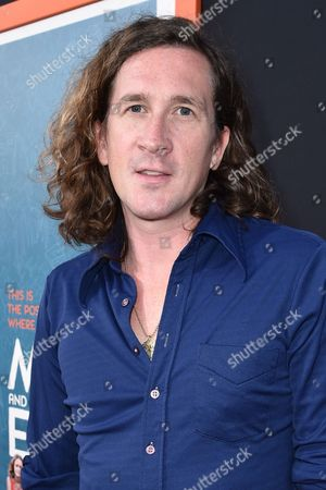 """Ian Brennan arrives at LA Premiere Of """"Me And Earl and The Dying Girl"""" Red Carpet at Harmony Gold Theater, in Los Angeles"""