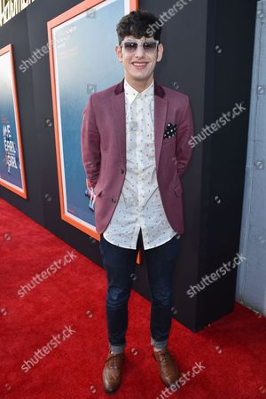 """Matt Bennett arrives at LA Premiere Of """"Me And Earl and The Dying Girl"""" Red Carpet at Harmony Gold Theater, in Los Angeles"""