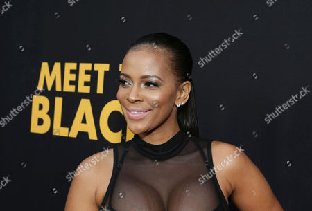 """Sundy Carter seen at """"Meet the Blacks"""" Premiere at the ArcLight Hollywood, in Hollywood, Calif"""