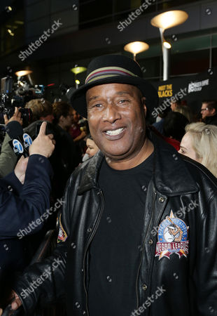 "Paul Mooney seen at ""Meet the Blacks"" Premiere at the ArcLight Hollywood, in Los Angeles"