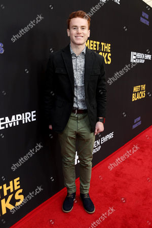 """Justin Tinucci seen at """"Meet the Blacks"""" Premiere at the ArcLight Hollywood, in Los Angeles"""