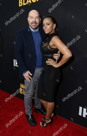 """Jason Stuart and Sundy Carter are seen at """"Meet the Blacks"""" Premiere at the ArcLight Hollywood, in Hollywood, Calif"""