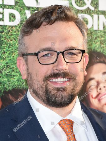 "Jake Szymanski arrives at the Los Angeles premiere of ""Mike and Dave Need Wedding Dates"" at the Cinerama Dome at Arclight Hollywood on"