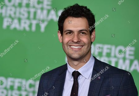 """Stock Picture of Andrew Leeds arrives at the Los Angeles premiere of """"Office Christmas Party"""" at the Village Theatre Westwood on"""