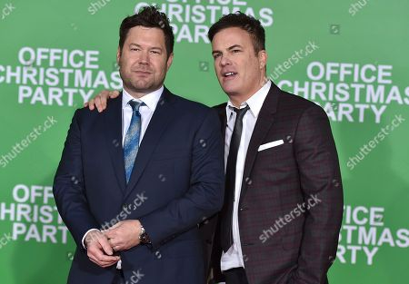 "Editorial image of LA Premiere of ""Office Christmas Party"" - Arrivals, Los Angeles, USA"