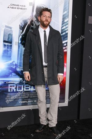 "Editorial picture of LA Premiere of ""RoboCop"" - Arrivals, Los Angeles, USA"