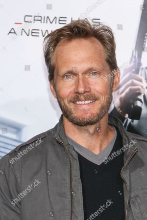 """Stock Picture of Actor Tom Schanley attends the premiere of """"RoboCop"""" at the TCL Chinese Theatre, on Monday, February, 10, 2014 in Los Angeles"""