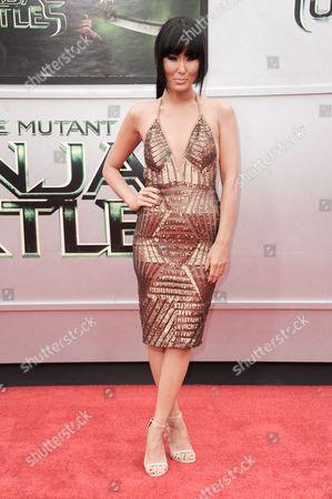 "Minae Noji arrives at the LA Premiere of ""Teenage Mutant Ninja Turtles"", in Los Angeles"