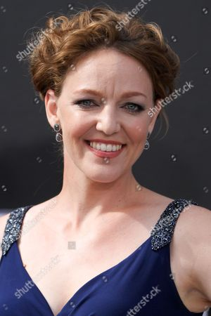 """Stock Photo of Kerry Cahill arrives at the LA Premiere of """"Terminator Genisys"""" at the Dolby Theatre, in Los Angeles"""