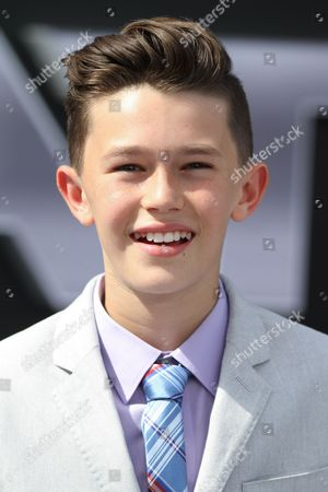 """Nolan Gross arrives at the LA Premiere of """"Terminator Genisys"""" at the Dolby Theatre, in Los Angeles"""