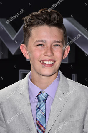 """Nolan Gross arrives at the LA Premiere of """"Terminator Genisys"""" at Dolby Theater on in Los Angeles"""