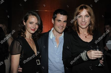 """From left, Amy Acker, Sean Maher,and Kai Cole attend the LA premiere of """"Much Ado About Nothing"""" on in Los Angeles"""