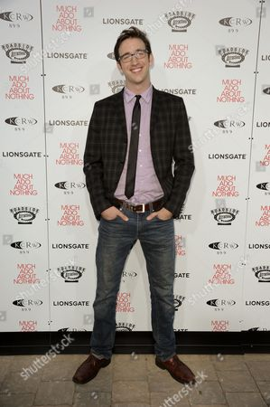 "Stock Photo of Brian McElhaney arrives at the LA premiere of ""Much Ado About Nothing"" on in Los Angeles"