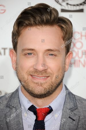 "Stock Image of Tom Lenk arrives at the LA premiere of ""Much Ado About Nothing"" on in Los Angeles"