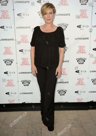 """Romy Rosemont arrives at the LA premiere of """"Much Ado About Nothing"""" on in Los Angeles"""