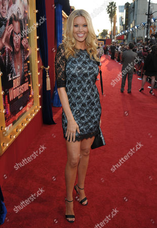 "Actress Jessica McClain arrives at the LA premiere of ""The Incredible Burt Wonderstone"" at the TCL Chinese Theatre, in Los Angeles"