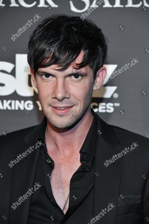 """Toby Schmitz arrives at the LA Premiere Screening of """"Black Sails"""" on in Los Angeles"""