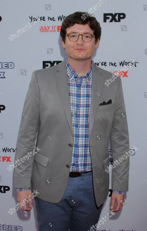 Actor and writer Allan McLeod seen at LA Premiere Screening of Married at Paramount Studios, in Los Angeles, California